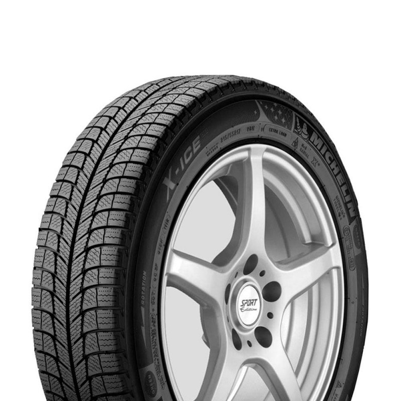 Шина зимняя MICHELIN X-Ice 3 195/65 R15 95T