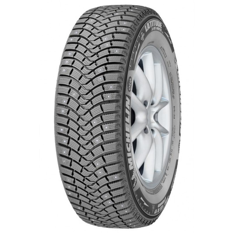 Шина зимняя MICHELIN Latitude X-Ice North 2 Plus 255/50 R19 107T шип