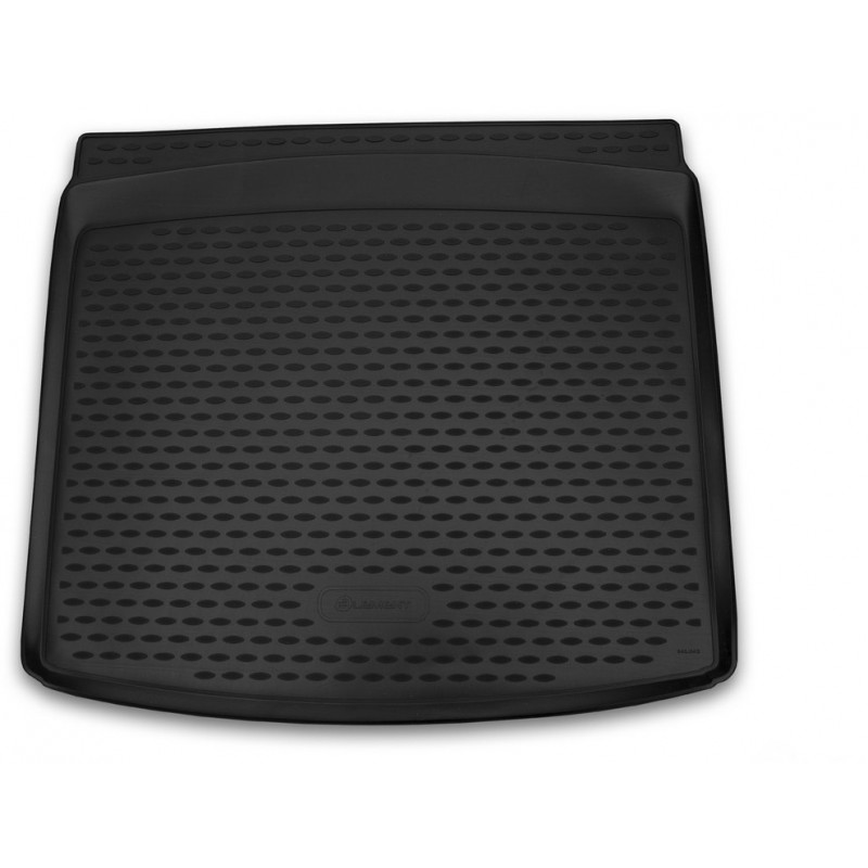 Коврик багажника RENAULT Kaptur 04-2016 2WD (для комплектаций без фальш-пола) полиуретановый черный
