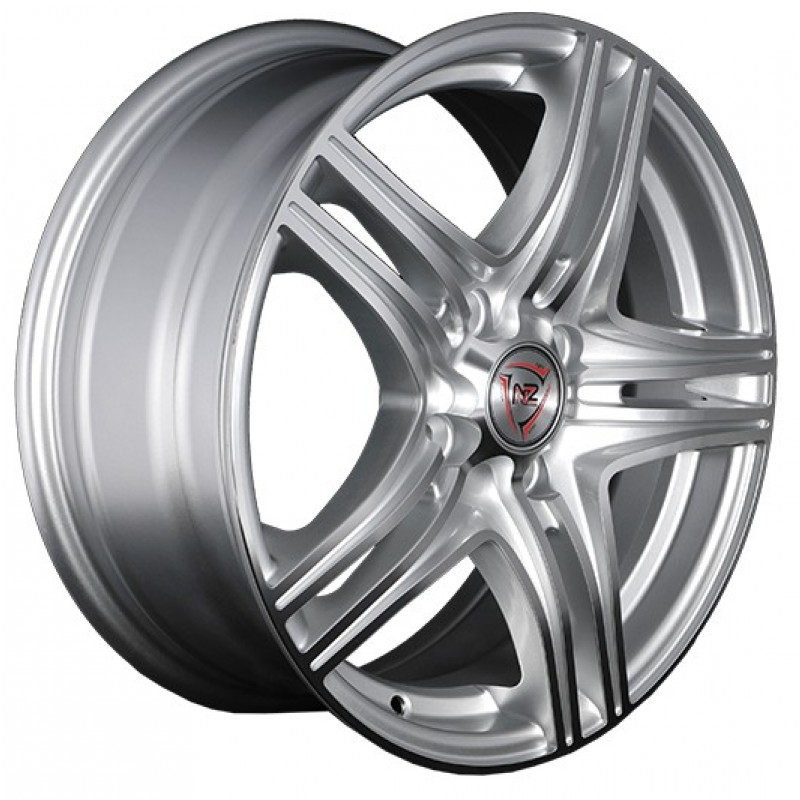 Литые диски NZ Wheels F-6 7x17/5x115 D70.1 ET40 Серебристый