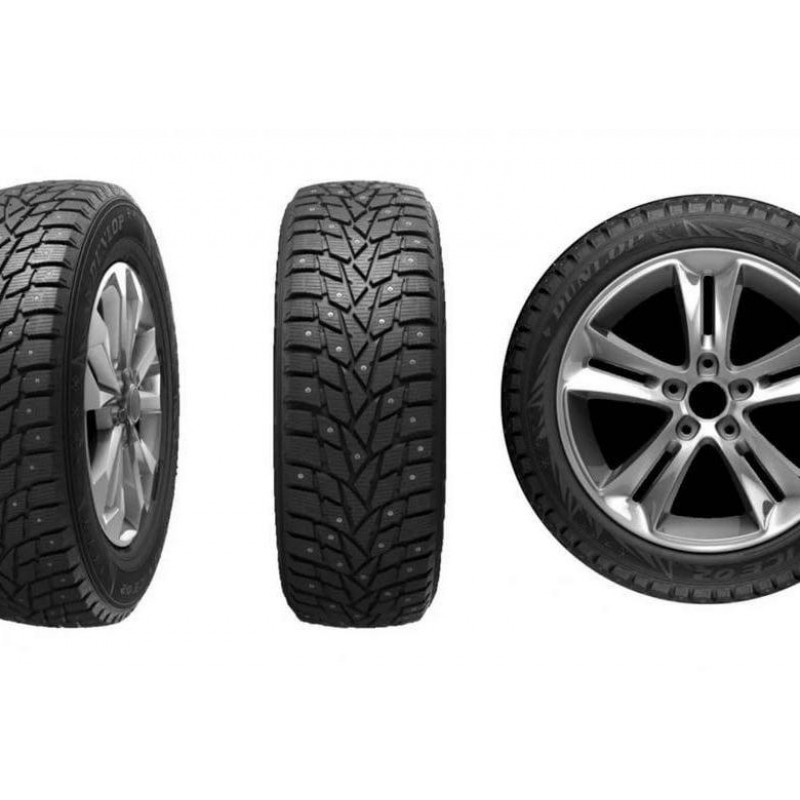 Шина зимняя DUNLOP SP Winter Ice 02 235/55 R17 103T шип